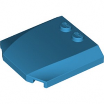 LEGO 6329156 CAPOT 4X4X2/3 - DARK AZUR lego-6329156-capot-4x4x23-dark-azur ici :