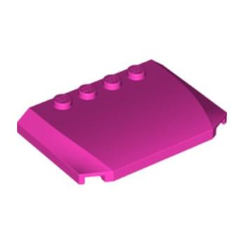 LEGO 6056389 CAPOT 4X6X2/3 - ROSE