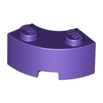 LEGO 6210472 BRIQUE 2X2 ARRONDIE - MEDIUM LILAC
