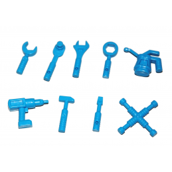 LEGO 6173980 ACCESSOIRES / OUTILLAGE X9 - DARK AZUR