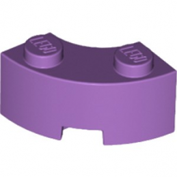 LEGO 6251844 BRIQUE 2X2 ARRONDIE - MEDIUM LAVENDER
