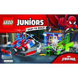 Notice / Instruction Lego Ser Heroes Marvel 10754