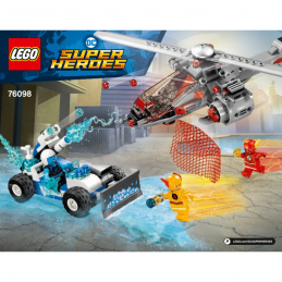 Notice / Instruction Lego Super Heroes 76098