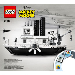 Notice / Instruction Lego IDEAS 21317
