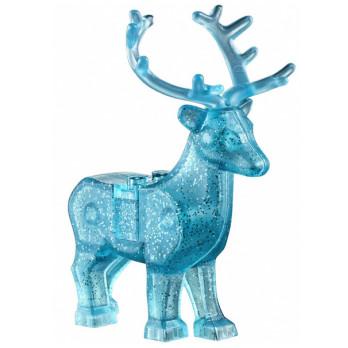 Mini Figurine LEGO® : Harry Potter - Cerf Bleu Transpent Glitter