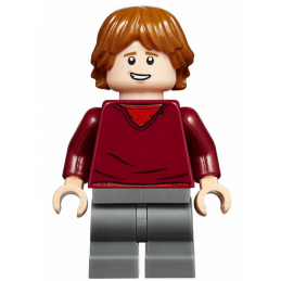 Mini Figurine LEGO® : Harry Potter - Ron Weasley mini-figurine-lego-harry-potter-ron-weasley ici :