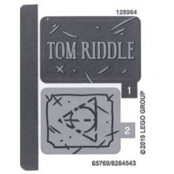 Stickers / Autocollant Lego Harry Potter 75965