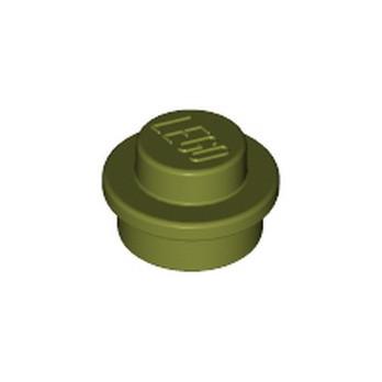 LEGO 6258990 ROND 1X1 - OLIVE GREEN lego-6258990-rond-1x1-olive-green ici :