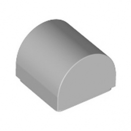 LEGO 6262085 DOME 1X1X2/3 - MEDIUM STONE GREY
