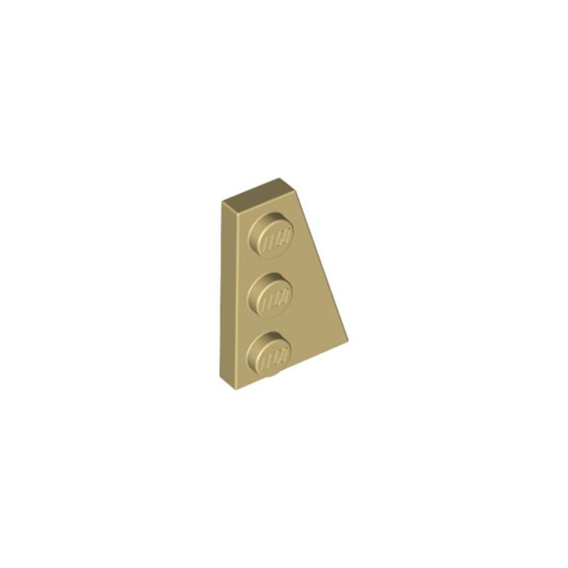 LEGO 6138230 PLATE 2X3 ANGLE DROIT - BEIGE