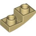 LEGO 6251252 DOME INV. 1X2X2/3 - BEIGE