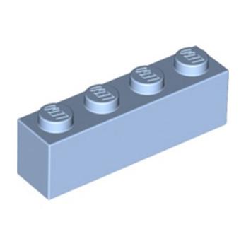 LEGO 6287903 BRIQUE 1X4 - LIGHT ROYAL BLUE
