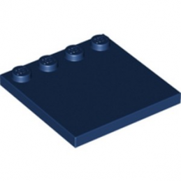 LEGO 6229005 PLATE 4X4 W. 4 KNOBS - EARTH BLUE