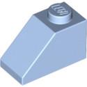 LEGO 6057389 TUILE 1X2/45° - LIGHT ROYAL BLUE