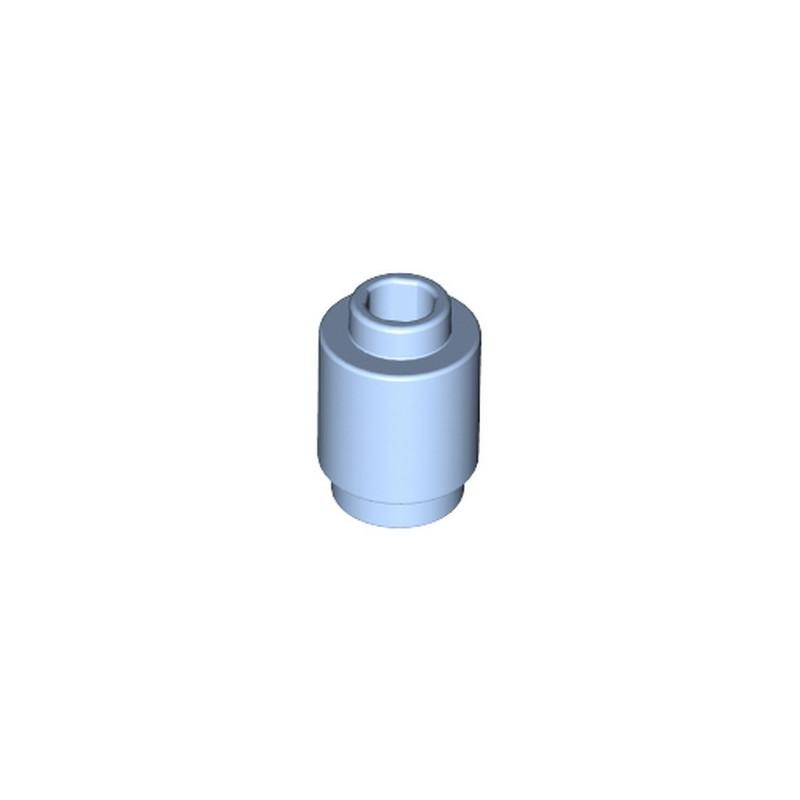 LEGO 6215387 BRIQUE RONDE 1X1 - LIGHT ROYAL BLUE