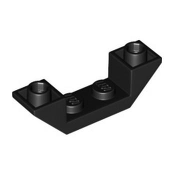 LEGO 6267482 ROOF TILE 1X4, INV., DEG. 45, W/ CUTOUT - NOIR