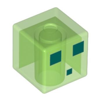 LEGO 6335370 TETE 2X2 - IMPRIME MINECRAFT