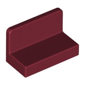 LEGO 6274681 MUR / CLOISON 1X2X1 - NEW DARK RED