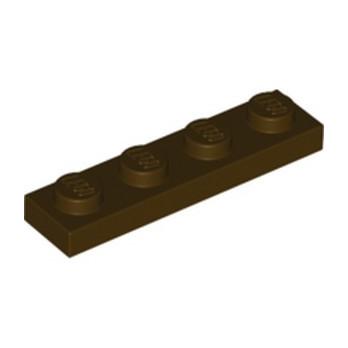 LEGO 6252667 PLATE 1X4 - DARK BROWN