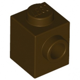 LEGO 6251021 BRIQUE 1X1 W. 1 KNOB - DARK BROWN