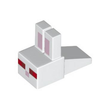 LEGO 6227152 TETE LAPIN MINECRAFT - BLANC