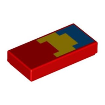 LEGO 6252702 IMPRIME MINECRAFT 1X2 - ROUGE lego-6252702-imprime-minecraft-1x2-rouge ici :