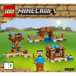 Notice / Instruction Lego  Minecraft 21135