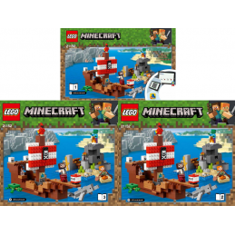 Notice / Instruction Lego  Minecraft 21152