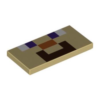 LEGO 6253171 IMPRIME MINECRAFT 2X4 - VISAGE STEVE