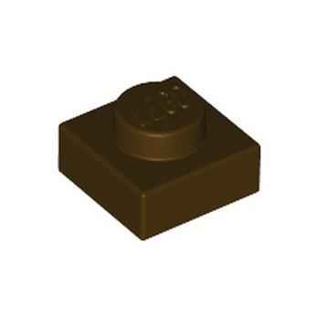 LEGO 6194729 PLATE 1X1 - DARK BROWN