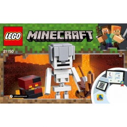 Notice / Instruction Lego  Minecraft 21150
