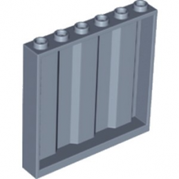 LEGO 6258378 MUR / CLOISON CONTAINER 1X6X5 - SAND BLUE