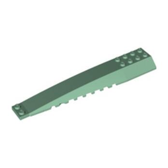 LEGO 6381682 BRICK 4X16 W/BOW/ANGLE - SAND GREEN