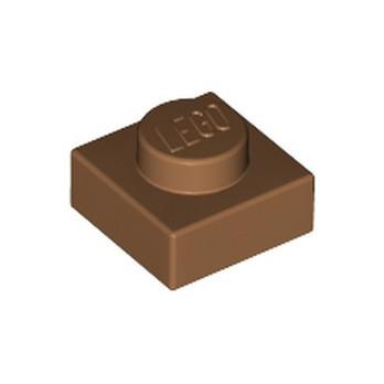 LEGO 6215606 PLATE 1X1 - MEDIUM NOUGAT
