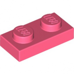 LEGO 6258094 PLATE 1X2 - CORAL lego-6258094-plate-1x2-coral ici :