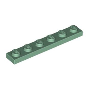 LEGO 6099187 PLATE 1X6 - SAND GREEN lego-6099187-plate-1x6-sand-green ici :