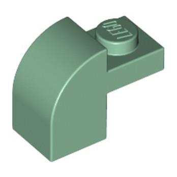 LEGO 6258321 BRIQUE ARCHE 1X1X1 1/3 - SAND GREEN