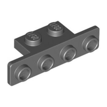 LEGO 6231853 ANGLE PLATE 1X2/1X4 - DARK STONE GREY