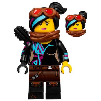 Mini Figurine LEGO® : The lego Movie - Lucy Wyldstyle - Apocalypseburg