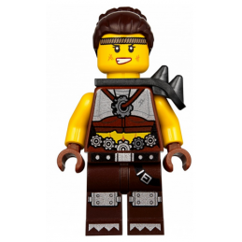 Mini Figurine LEGO® : The lego Movie - Roxxi - Apocalypseburg