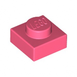 LEGO 6258091 PLATE 1X1 - CORAL