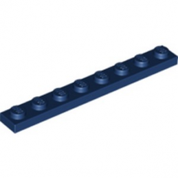 LEGO 6250216 PLATE 1X8 - EARTH BLUE
