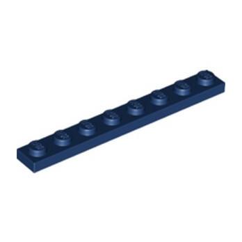 LEGO 6250216 PLATE 1X8 - EARTH BLUE lego-6250216-plate-1x8-earth-blue ici :