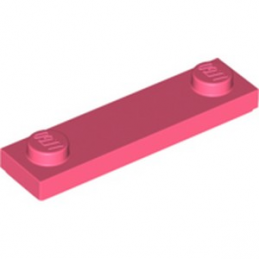 LEGO 6259780 PLATE 1X4 W. 2 KNOBS - CORAL lego-6259780-plate-1x4-w-2-knobs-coral ici :