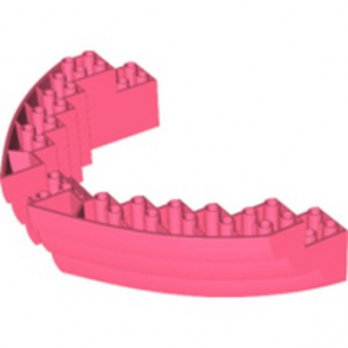 LEGO 6259781 COQUE DE BATEAU 16X12X2 2/3 - CORAIL