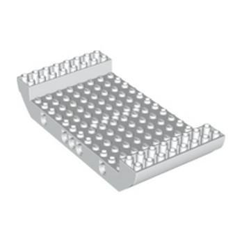 LEGO 6259778 MILIEU COQUE DE BATEAU 16X8X2 1/3 Ø4.85 - BLANC
