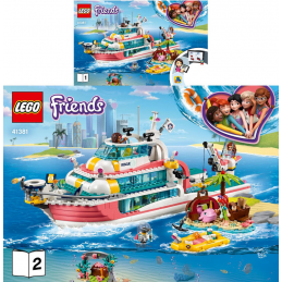 Notice / Instruction Lego Friends 41381