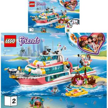 Notice / Instruction Lego Friends 41381 notice-instruction-lego-friends-41381 ici :