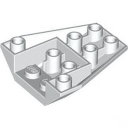 LEGO 485501 ROOF TILE 4X2/18° INV. - BLANC