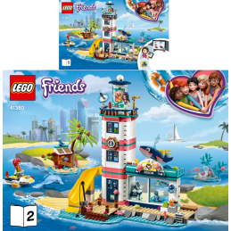 Notice / Instruction Lego Friends 41380